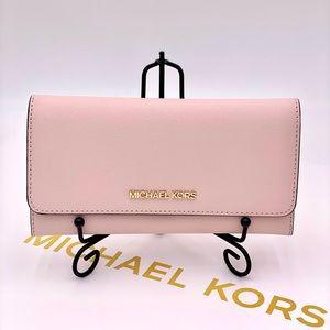 Michael Kors Trifold Wallet Pink